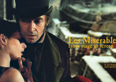 Shooting `Les Mis`