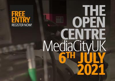 The Open Centre Media City UK – 6th July 2021